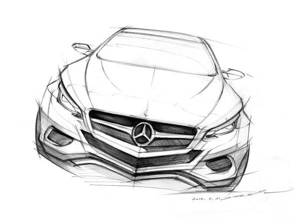 Sketch, Car_sketch, Boceto_coche