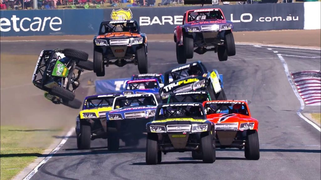 Stadium_Super_Trucks; Pickup; Robby_Gordon