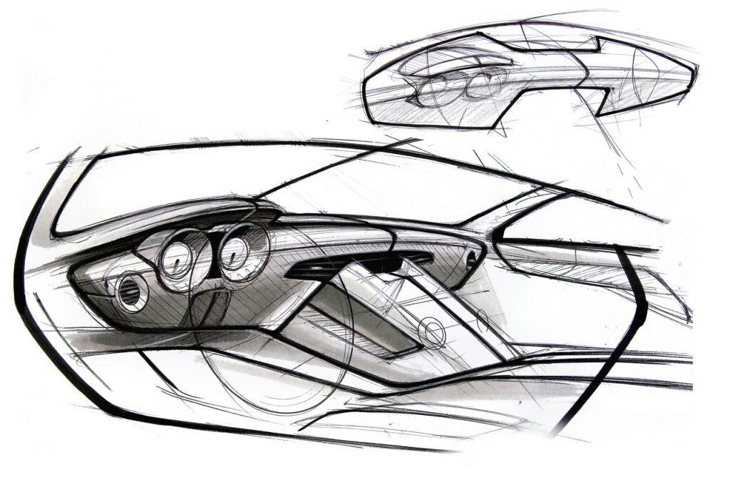 Diseño; repetitivo; coches; sketch; boceto